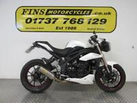 2015 Triumph Speed Triple 1050, White, Excellent, Triumph history, Warranty, MOT