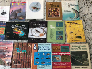 Fly Tying Book Collection