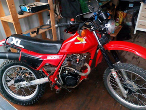 1983 Honda XL200R  Blue Plated and Safetied