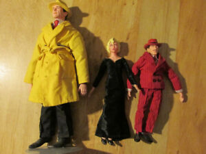 DICK TRACY Applause Toy Doll Action Figure Lot MADONNA Al Pacino