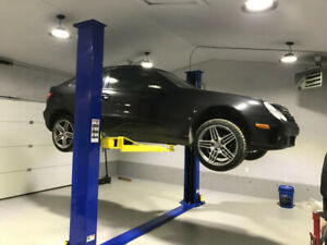Low ceiling Hoist (car lift) sale and installation