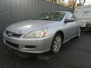 2006 HONDA ACCORD EXL  NO TITLE NO PAPERS