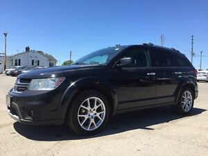 2014 DODGE JOURNEY RT * AWD * LEATHER * BLUETOOTH * HEATED SEATS London Ontario image 2