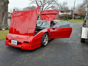 Supercharged 87 Fiero GT