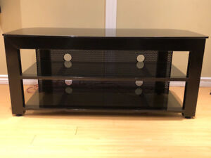 High Quality, Sturdy Black Metal Audio / Media Stand / Cabinet