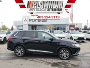 2017 Mitsubishi Outlander GT  Low KM-7 Pass- Leather-Fully Loade
