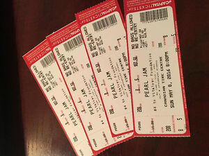 Pearl Jam Tickets - 25% off - Four Tickets & Parking Pass