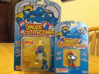 1995 & 96 FACTORY SEALED SMURFS