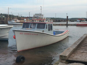 lobster boat for sale 42ft four ports