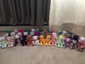 TY Beanie Babies both Large and Small for sale