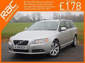 2008 Volvo V70 2.4D Turbo Diesel SE Geartronic 6 Speed Auto Sunroof Sat Nav Full