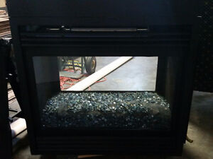 """Gas """"SEE THROUGH"""" Fireplace"""