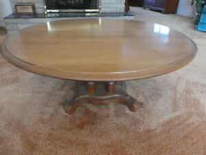 "SOLID WOOD COFFEE TABLE 36"" (DARTMOUTH)"