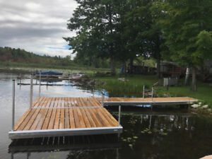 Boat dock - Used for one season - Like new -