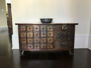Moving, must sell! Antique Korean chest