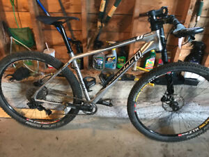 29er Cannondale Large - half of it brand new 22lbs