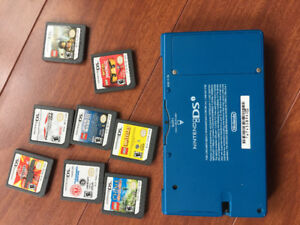 Nintendo DS  and 8 games
