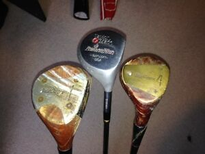 Men's right driver, 1 wood and 4 wood