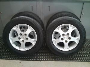 Mags 15'' Mazda avec pneus