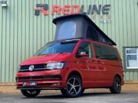 2017 VW T6 Redline Campervan, Camper Van, Brand New Conversion Cherry Red