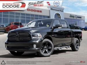 2017 Ram 1500 Sport  5.7L HEMI | GOLDPLAN WARRANTY | PARK ASSIST