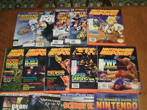 Nintendo Power video game magazines