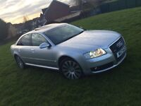 AUDI A8 4.2 Quattro Sport Facelift HPI clear Sunroof Fully loaded
