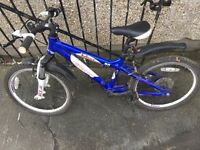 Boys carrera mountain bike in pretty good condition, could do with a clean up from storage