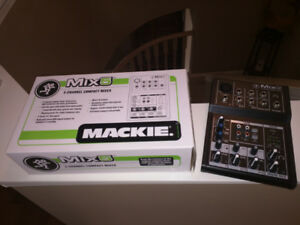 Mackie Mix 5 Channel Compact Mixer - Mint condition.