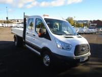 Ford Transit 2.2 Tdci 125Ps Double Cab Chassis DIESEL MANUAL WHITE (2016)