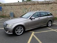 2009 Mercedes-Benz C Class 1.6 C180 BlueEFFICIENCY Kompressor Sport 5dr