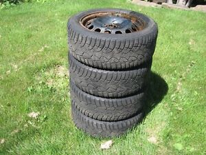 Altimax Artic winter tires 205 55 16 on Volkswagan wheels 6.5x16