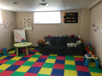 02 spots available at home daycare (close to ECOLE SOUTH POINTE)