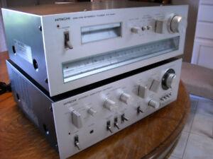 VINTAGE HITACHI HA-5300 INTEGRATED AMP/FT-440 TUNER