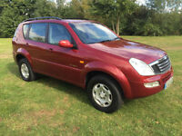 2003 Ssangyong REXTON 3.2 WITH GAS CONVERTION 4X4