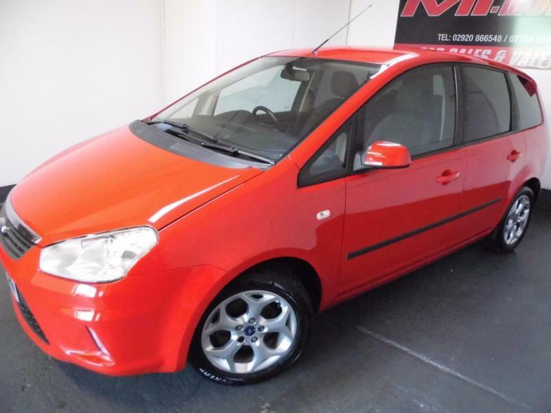 Ford C-MAX 1.8 16v 125 2008 Zetec Just 61046 Miles Outstanding Condition