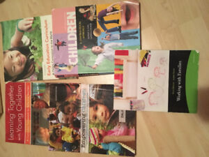 Five textbooks for Early Childhood Care and Education course