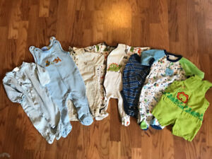 Baby Boy Clothes 6-12 MONTHS Jumpers, Onesies, Sleepers, Overall