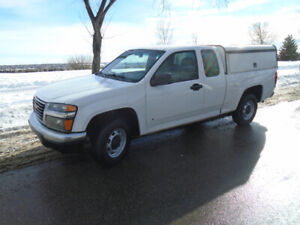 2008 GMC Canyon Ext cab, with canopy, Clean< Great !!!