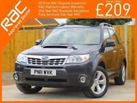 2011 Subaru Forester 2.0 Boxer Turbo Diesel XC 6 Speed 4x4 4WD Pan Roof Rear Cam