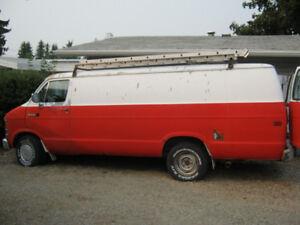 1990 Dodge Ram Van Minivan, Van