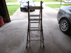 MASTERCRAFT 17' ARTICULATING LADDER