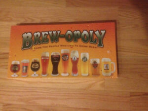 Brew-opoly Board  Game unopened