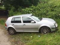 Volkswagen Golf mk4 1.9tdi spares or repairs