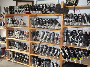 Need Skates? We Have Them!! The Skateman is Back on Parkland