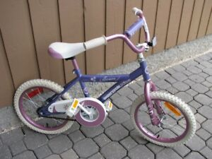 SUPERCYCLE Girls Bike - 16 Inch wheels