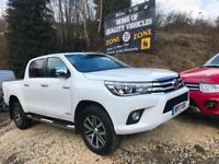 2017 17 TOYOTA HI-LUX CREW-CAB NEW SHAPE / REAR CAMERA / AIR-CON / AUTO