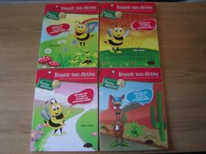 FRENCH WORKBOOKS FOR CHILDREN IN GRADE 1 TO 6