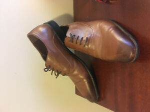 Caballeros Madrid brown leather dress shoes size 42 EUR