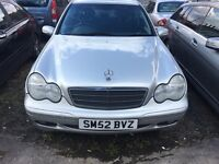 2003 (52) Mercedes c220cdi automatic/ 104000/ full service history!